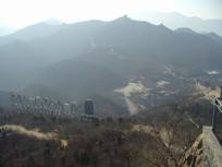 寒冬的八达岭长城