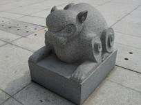 猴-生肖动物雕塑