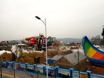 建设中的四季贵州旅游景区