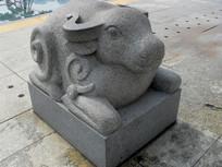 牛-生肖动物雕塑