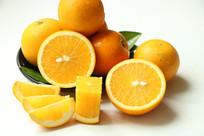 一堆冰糖橙