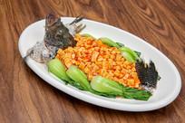 青菜豆腐鱼