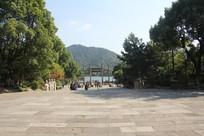 湘湖城山广场与城山怀古远景