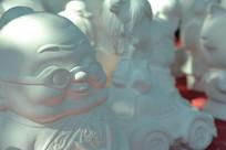 白色老翁陶瓷品