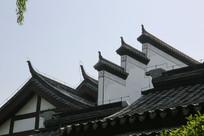 传统统徽派飞檐白墙
