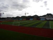 大学校园足球场