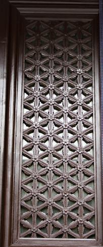 关王庙窗户雕刻图案