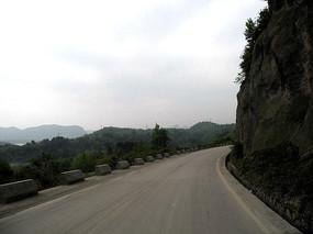 贵州高原的盘山公路