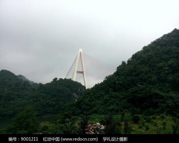 红枫湖大桥桥顶图片