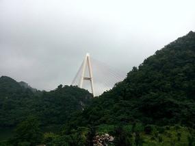 红枫湖大桥桥顶