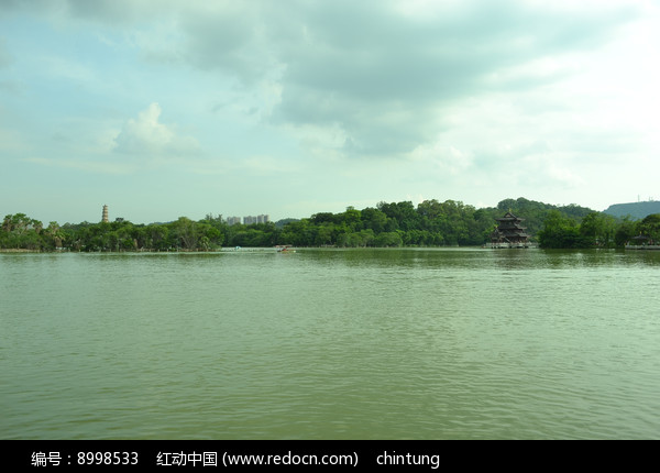 惠州西湖的景色图片
