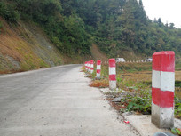 农村公路警戒牌