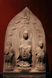 北魏弥勒佛雕像