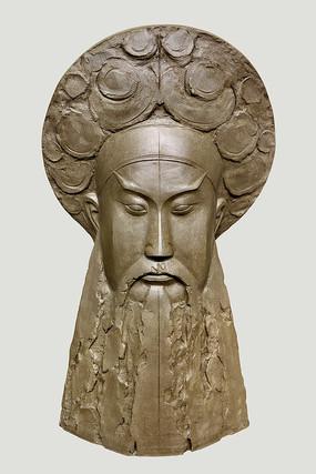 雕塑京剧人物