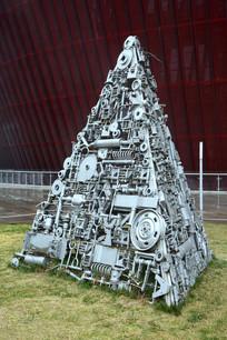 雕塑机械塔