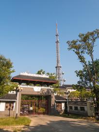 高榜山茶园与电视塔