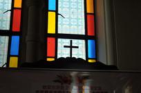 上海佘山天主教堂十字架横构图