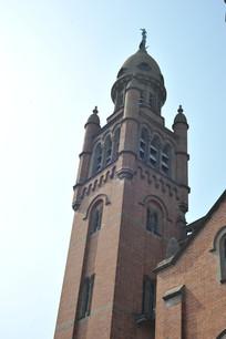 上海佘山天主教堂钟楼
