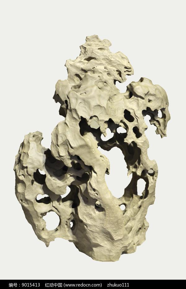 雕塑太湖石图片