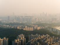 拂晓的惠州城市
