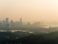 拂晓的惠州城市景观