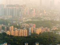 惠城区建筑天际线