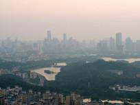 惠州市区天际线
