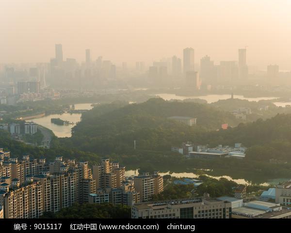 惠州市区天际线景象图片