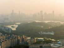 惠州市区天际线景象