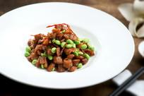 萝卜干毛豆