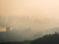 清晨的惠州水口片区风光