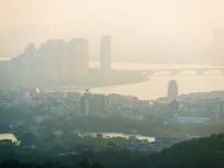 远眺惠州城市风光