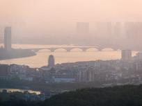 早晨的东江景色