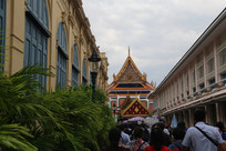 欧式建筑与泰国寺庙
