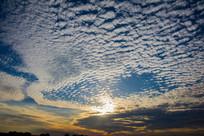 天空美丽的云彩