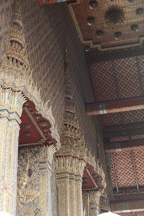 寺廟裝飾圖案