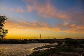 夕阳西下风景