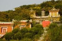 圣水寺建筑风景