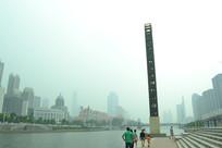 天津滨江沿岸建筑