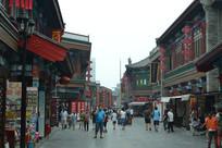 天津古玩街景象