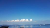 大海与蓝天