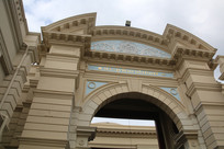 高大的欧式建筑穹顶