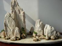 假山石盆景图片素材