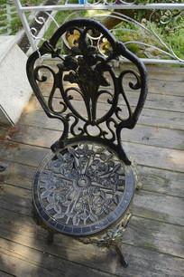 镂空花纹图案西式座椅