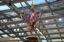 水神伐楼雕像