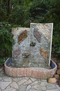 云台花园特色洗手池