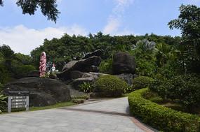 云台花园岩石园景观