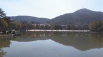 湖泊山水风光图片