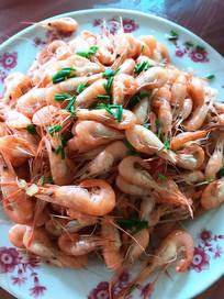清炒白米虾