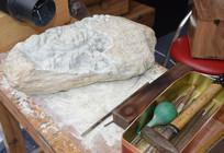 石雕雕刻工具台